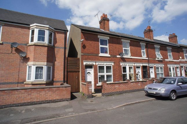Thumbnail End terrace house to rent in Abingdon Street, Derby