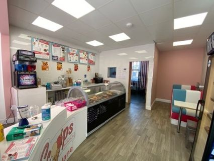 Retail premises to let in High Street, Dunblane