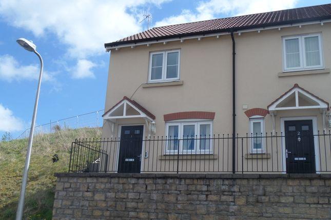 Thumbnail End terrace house for sale in Cyfarthfa Mews, Merthyr Tydfil