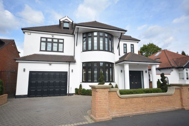 Thumbnail Detached house for sale in Links Avenue, Gidea Park