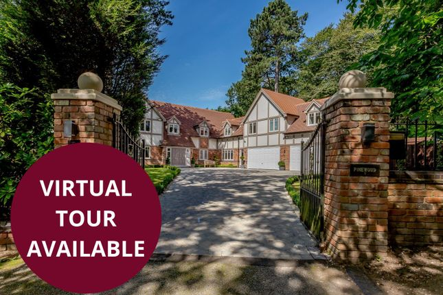 Thumbnail Detached house for sale in Roman Road, Little Aston, Sutton Coldfield