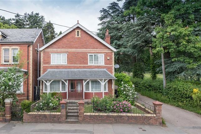 Thumbnail Detached house for sale in Castle Parade, Usk, Monmouthshire