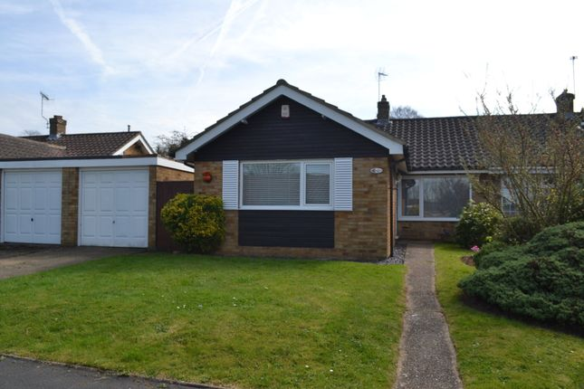 Thumbnail Semi-detached bungalow to rent in Willow Way, Chiswell Green, St. Albans