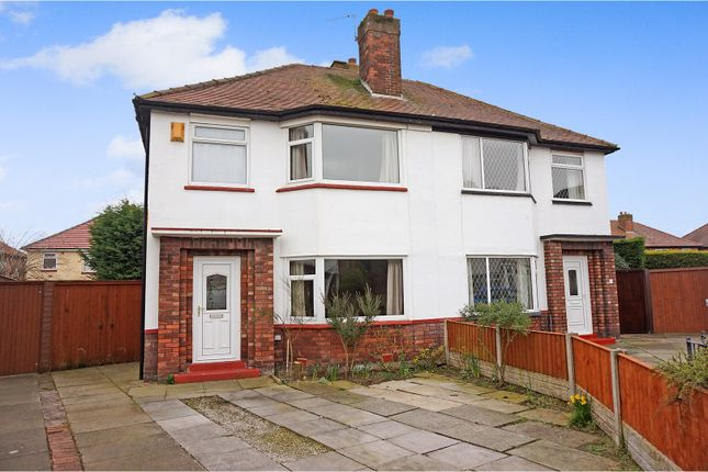 Thumbnail Semi-detached house for sale in Ranelagh Drive, Southport