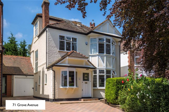 Thumbnail Semi-detached house for sale in Grove Avenue, London