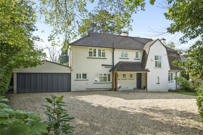 Thumbnail Detached house for sale in Holtwood Road, Oxshott, Leatherhead, Surrey