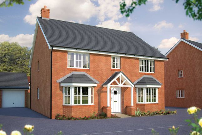 Thumbnail Detached house for sale in Beancroft Road, Marston Moretaine, Bedford