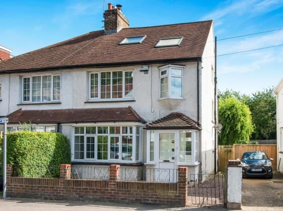 Thumbnail Semi-detached house for sale in Boundary Road, Chatham, Kent