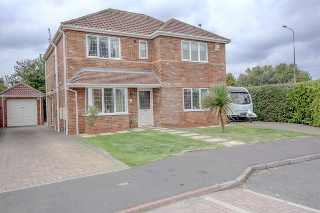 Thumbnail Detached house for sale in Almond Grove, Stallingborough, Nr. Grimsby