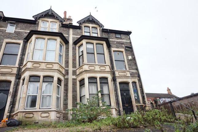 Thumbnail End terrace house to rent in Cheltenham Crescent, Montpelier, Bristol
