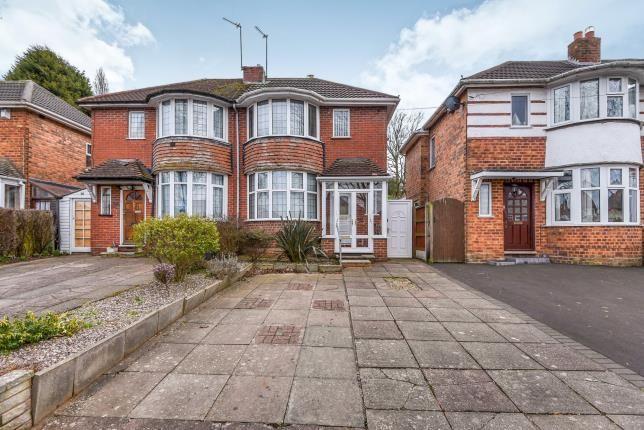 Thumbnail Semi-detached house for sale in Knightwick Crescent, Erdington, Birmingham, West Midlands