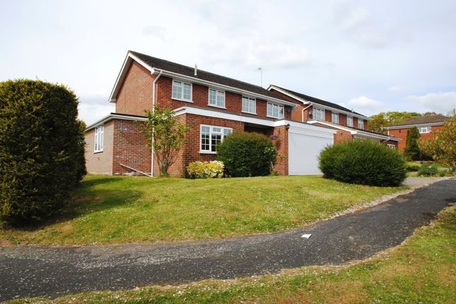 Thumbnail Detached house for sale in Heather Grove, Hartley Wintney, Hook