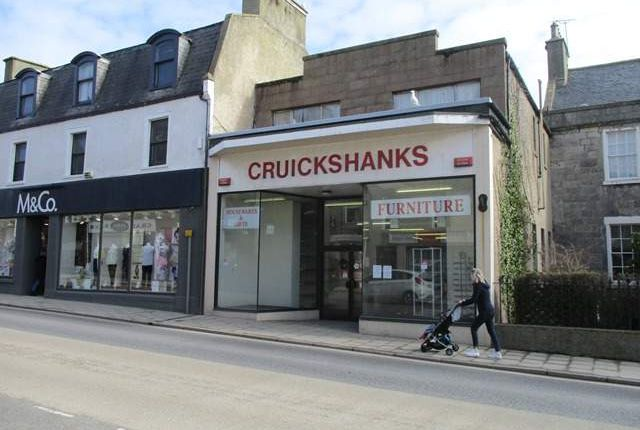 Thumbnail Retail premises for sale in 32 High Street, Banff