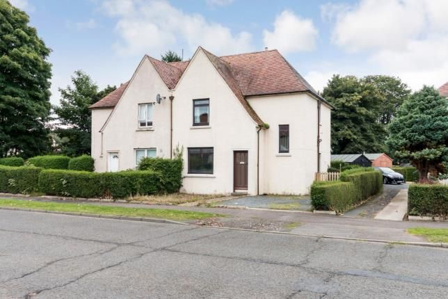 Thumbnail Semi-detached house for sale in Central Avenue, Troon, South Ayrshire, Scotland
