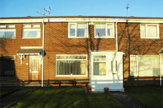 Thumbnail Terraced house for sale in Brookside, Dudley, Cramlington, Tyne And Wear