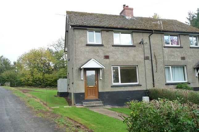 Thumbnail Semi-detached house to rent in Brecon