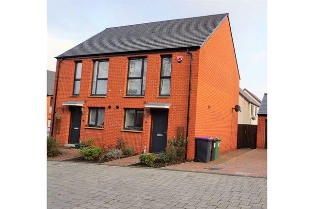 Thumbnail Semi-detached house for sale in Bolt Lane, Ketley Telford