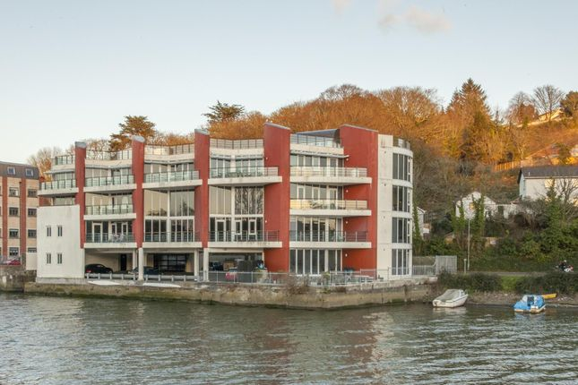 Thumbnail Flat for sale in Malpas House, Malpas Road, Truro, Cornwall