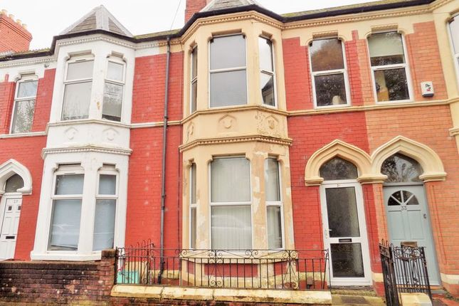 Thumbnail Terraced house for sale in Clarence Embankment, Cardiff