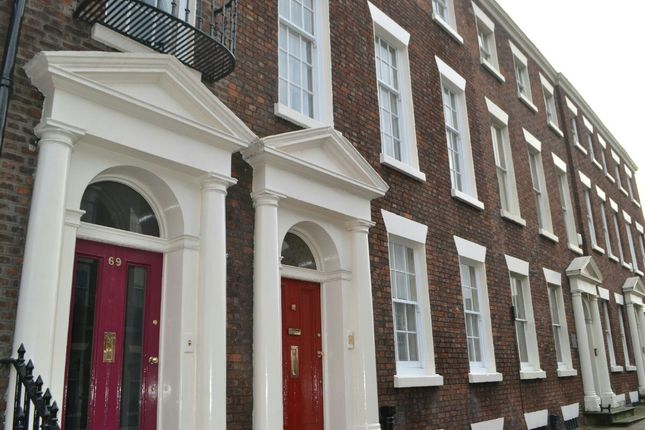 Thumbnail Town house for sale in Rodney Street, Liverpool