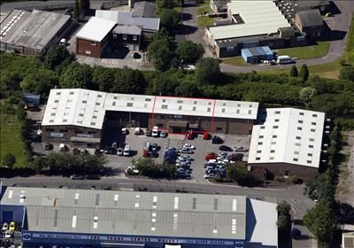 Ariel View of Newby Business Centre, Neath Abbey Business Park, Neath Abbey, Neath SA10