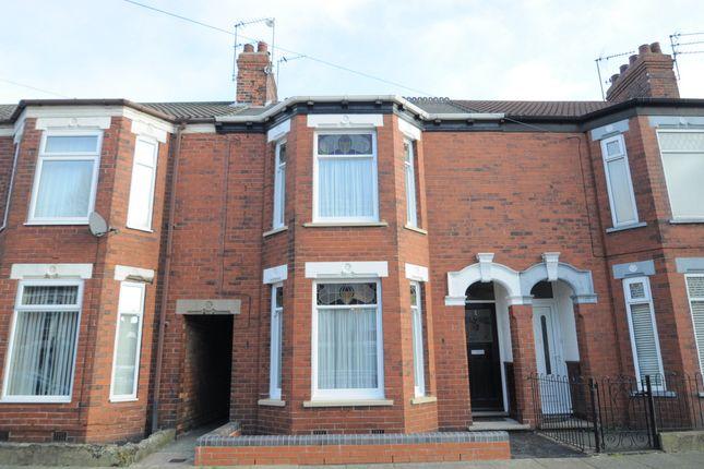 3 bed terraced house for sale in Summergangs Road, Hull HU8