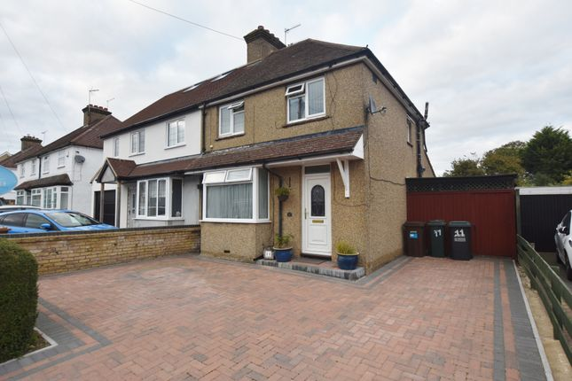 Thumbnail Semi-detached house for sale in Langley Road, Abbots Langley