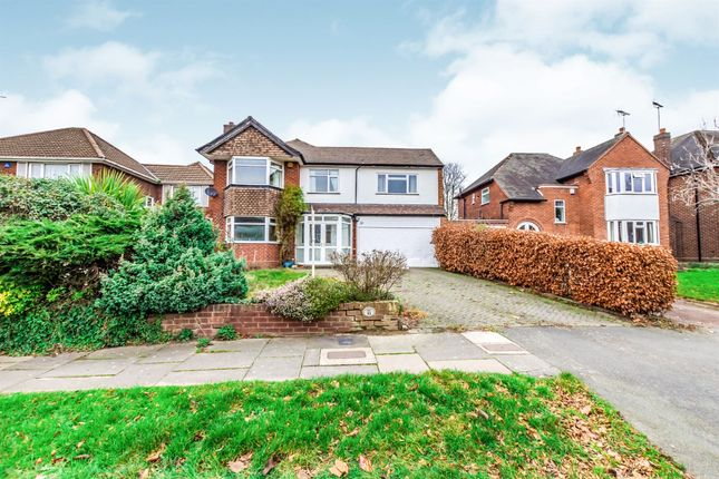 Thumbnail Detached house for sale in Lake Avenue, Walsall