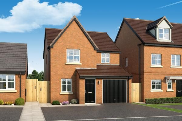"""Thumbnail Property for sale in """"The Staveley At The Woodlands"""" at Newbury Road, Skelmersdale"""