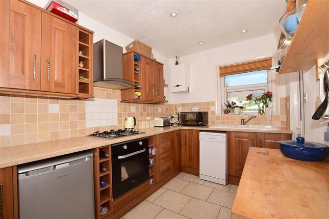 Thumbnail Terraced house for sale in Narrabeen Road, Cheriton, Folkestone, Kent