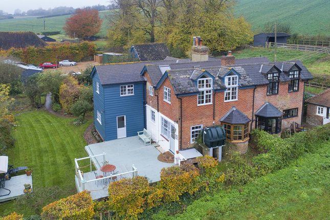 Thumbnail Semi-detached house for sale in Rural Village Hastingleigh, Nr Ashford, Kent