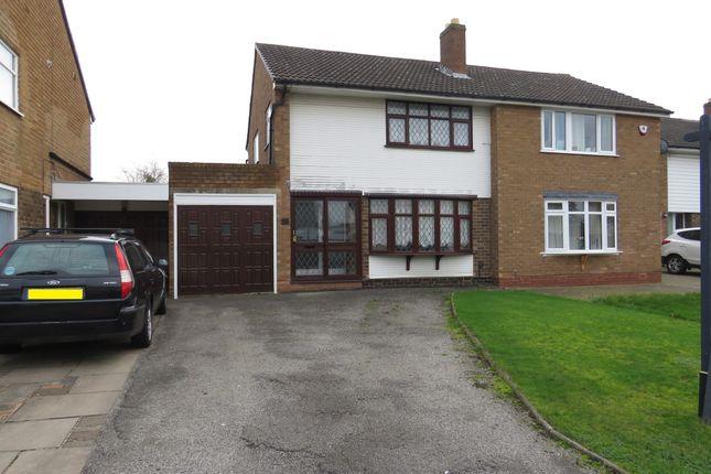 Semi-detached house in  Somerfield Close  Shelfield  Walsall  Birmingham