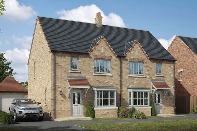 Thumbnail Semi-detached house for sale in The Blyton, Lodge Lane, Nettleham