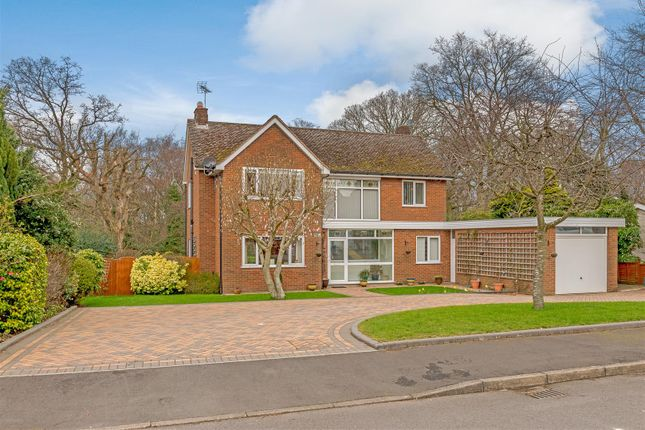 Thumbnail Detached house for sale in Birch Tree Grove, Solihull