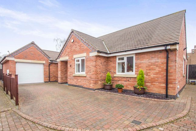 Thumbnail Detached bungalow for sale in Paddock Close, Blaby, Leicester