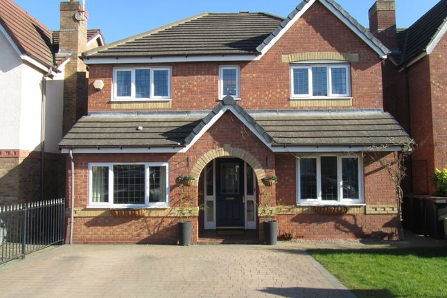 Thumbnail Detached house for sale in Hatters Court, Bedworth, Warwickshire