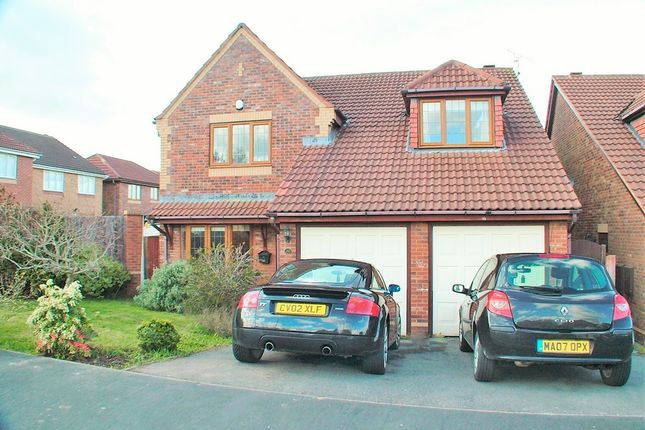 Thumbnail Detached house for sale in Hillsdown Drive, Connah's Quay, Deeside