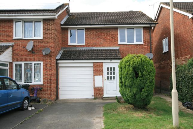 3 bed end terrace house to rent in Juniper Close, Ashford, Kent