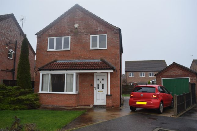 Thumbnail Detached house to rent in Bayfield Road, Timberland, Lincoln
