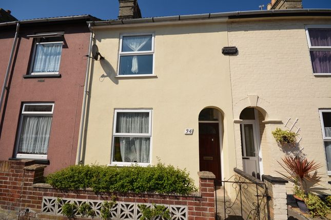Thumbnail Terraced house to rent in Lorne Road, Lowestoft