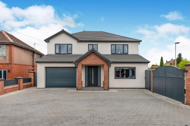 Thumbnail Detached house for sale in Walsall Road, Great Wyrley, Walsall, Staffordshire