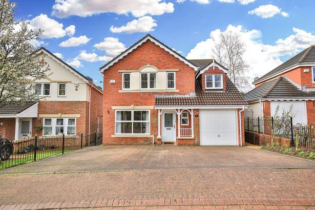 Thumbnail Detached house for sale in Cae Garw Bach, St. Fagans, Cardiff