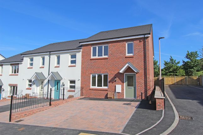 3 bed end terrace house for sale in Plot 14, Bowling Green View, Cullompton, Devon