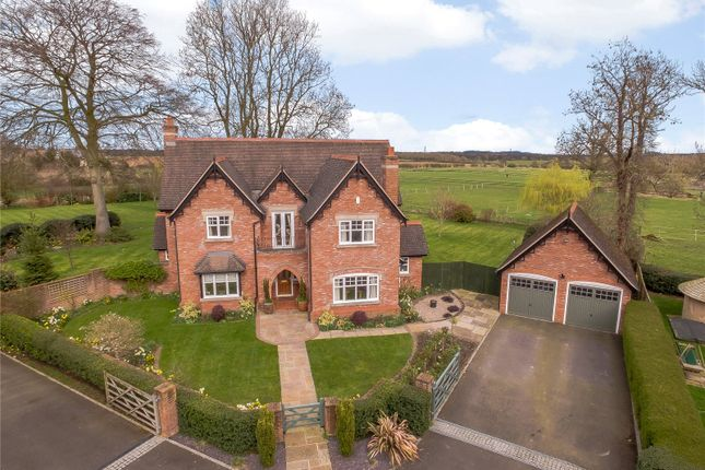 Thumbnail Detached house for sale in Prescott Meadows, Prescott, Baschurch, Shrewsbury