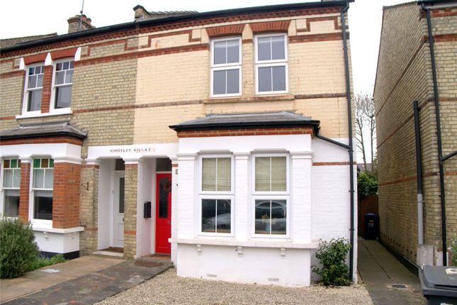 Thumbnail Maisonette to rent in Bulwer Road, New Barnet, Herts