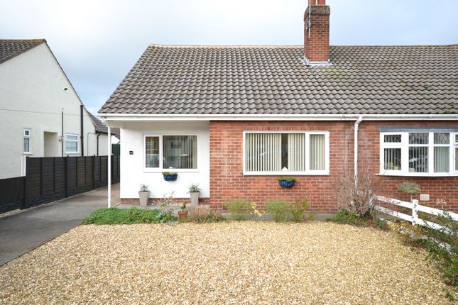 Thumbnail Semi-detached bungalow for sale in The Broadway, Abergele