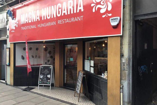 Thumbnail Restaurant/cafe for sale in West Maitland Street, Edinburgh