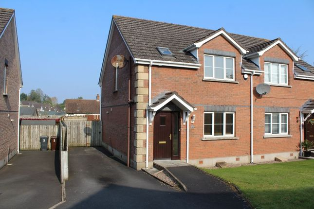 Thumbnail Semi-detached house to rent in Johnston Park Gransha Road, Dundonald, Belfast