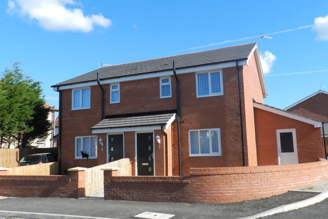 Thumbnail Semi-detached house to rent in Abbey Close, Blackpool, Lancashire