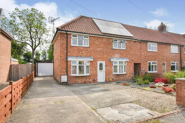 Thumbnail Semi-detached house for sale in Brecksfield, Skelton, York